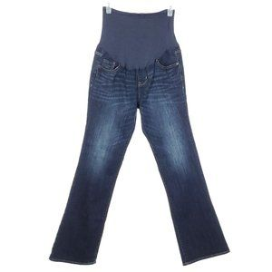 OLD NAVY Maternity Jeans Boot Cut Full Panel 10